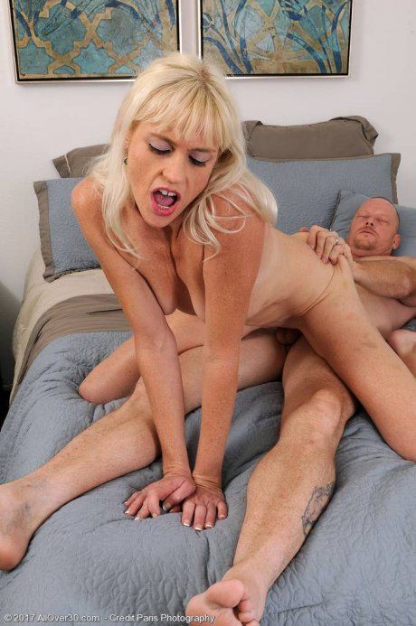 Angelique H gets fucked with her lover at AllOver30