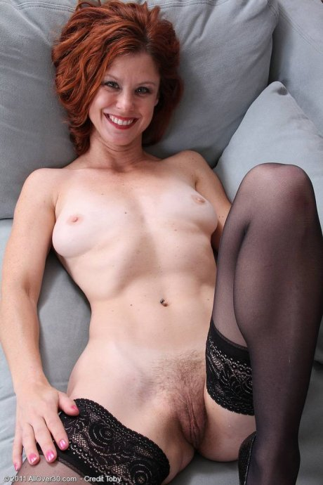 Gorgeous 39 year old Jessica Adams shows off her clean sexy feet at AllOver30