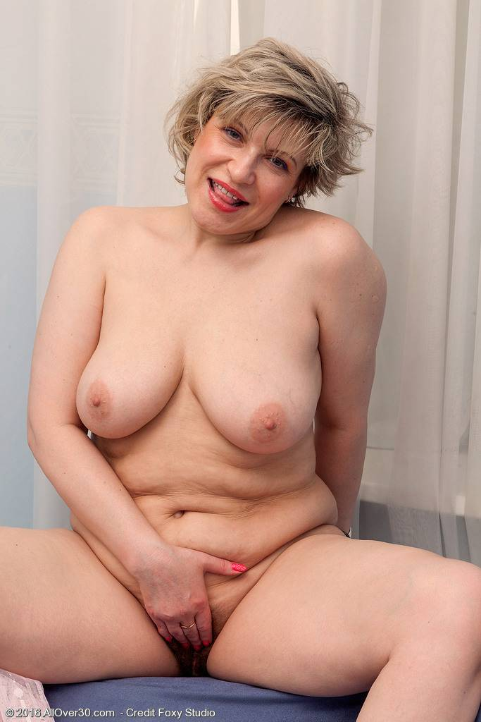 Busty Marianna Shows Her Big Soft Boobs at AllOver30